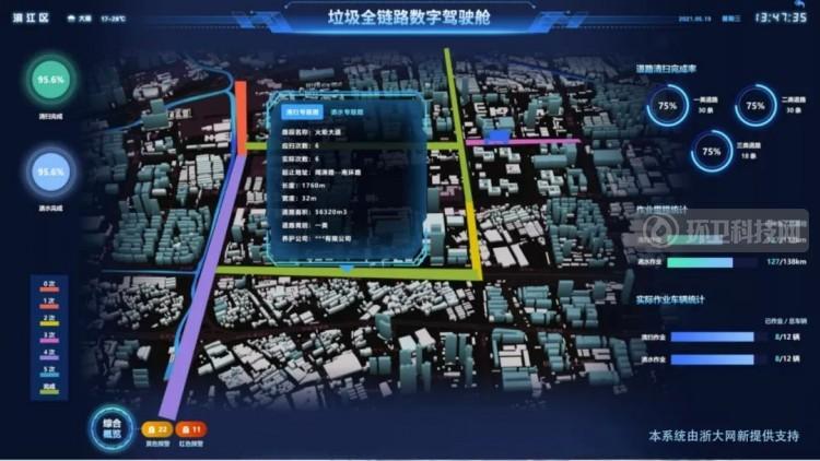 杭州滨江区推新型环卫系统,助力城市精细化管理
